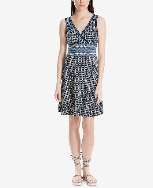 9575dcac90 ... Max Studio London Printed Fit   Flare Dress