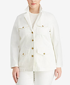 Lauren Ralph Lauren Plus Size Jacket