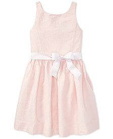 Polo Ralph Lauren Sleeveless Cotton Dress, Big Girls