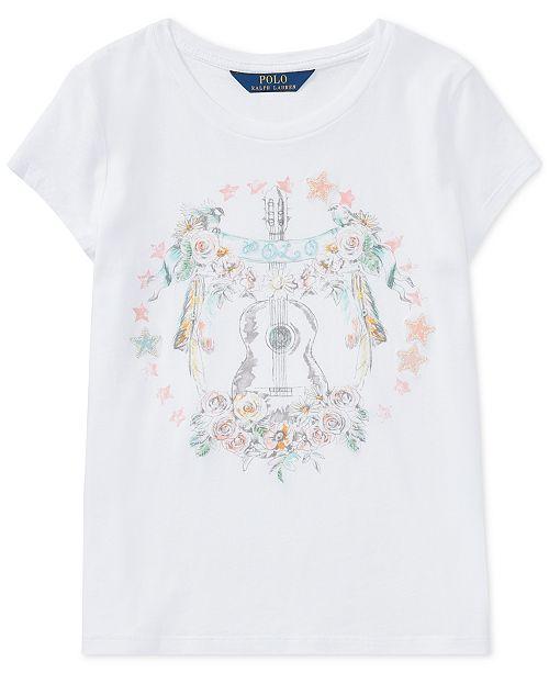 ... Polo Ralph Lauren Cotton Jersey Graphic T-Shirt 62b1f0199