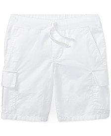 Polo Ralph Lauren Cotton Cargo Shorts, Toddler Boys