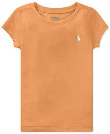 Polo Ralph Lauren Stretch T-Shirt, Little Girls