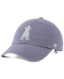 '47 Brand Los Angeles Angels Dark Gray CLEAN UP Cap