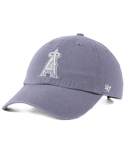 '47 Brand Los Angeles Angels Dark Gray CLEAN UP Cap