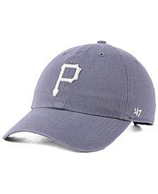 '47 Brand Pittsburgh Pirates Dark Gray CLEAN UP Cap