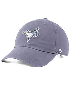 '47 Brand Toronto Blue Jays Dark Gray CLEAN UP Cap