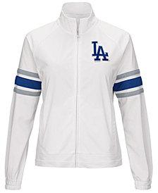 G-III Sports Women's Los Angeles Dodgers Game Score Track Jacket