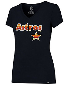 '47 Brand Women's Houston Astros Coop Logo T-Shirt
