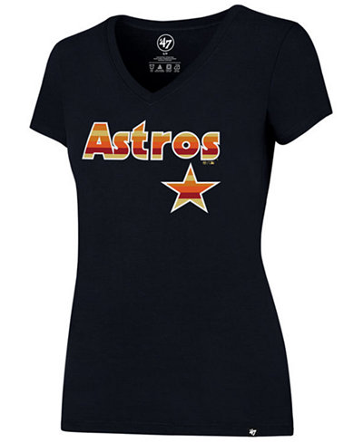 '47 Brand Women's Houston Astros Coop Logo T-Shirt