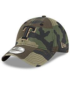 New Era Texas Rangers Camo Core Classic 9TWENTY Cap