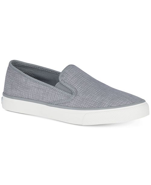3fe6b9d1faa Sperry Women s Seaside Memory Foam Slip-On Sneakers   Reviews ...