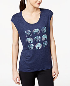 Gaiam Dani Graphic Elephant T-Shirt