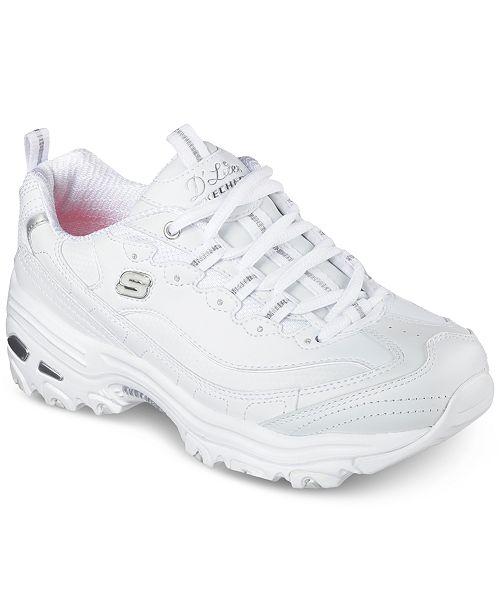Skechers Women's D'Lites - Fresh Start Walking Sneakers from Finish Line 9RXm0DIQp