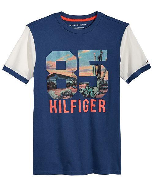 Tommy Hilfiger Graphic-Print Cotton T-Shirt, Little Boys