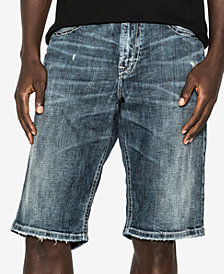 Silver Jeans Men's Loose Fit Denim Shorts