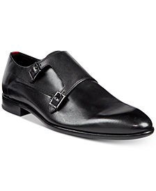 HUGO Men's Dress Appeal Double Monk Strap Loafers