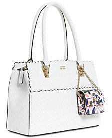 Guess Rayna Signature Satchel