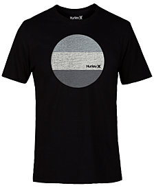 Hurley Men's Circular Graphic-Print T-Shirt