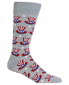 Hot Sox Men's Carnival Hat Socks
