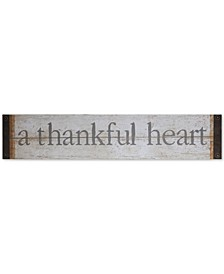 """A Thankful Heart"" Wall Decor"