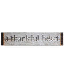 "3R Studio ""A Thankful Heart"" Wall Decor"