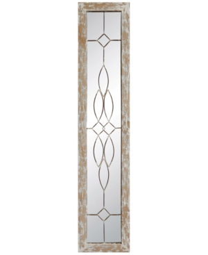 Wood Framed Mirror with...
