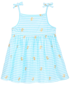 First Impressions Printed Cotton Sundress Baby Girls Created for Macys