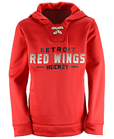 Outerstuff Detroit Red Wings Hockey Hoodie, Big Boys (8-20)