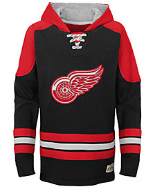 Outerstuff Detroit Red Wings Legendary Hoodie, Big Boys (8-20)