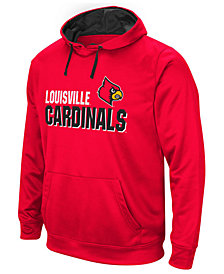 Colosseum Men's Louisville Cardinals Stack Performance Hoodie