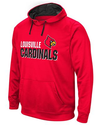 Colosseum Men's Louisville Cardinals Stack Performance Hoodie