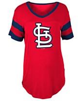 5th   Ocean Women s St. Louis Cardinals Sleeve Stripe Relax T-Shirt e4f250329a