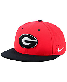 Nike Georgia Bulldogs Aerobill True Fitted Baseball Cap