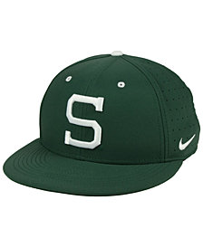 Nike Michigan State Spartans Aerobill True Fitted Baseball Cap