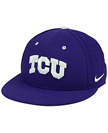 Nike TCU Horned Frogs Aerobill True Fitted Baseball Cap