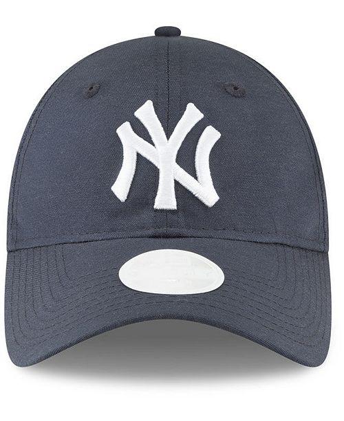 2ef04e2676a New Era. New York Yankees Team Linen 9TWENTY Strapback Cap. Be the first to  Write a Review. main image  main image  main image ...
