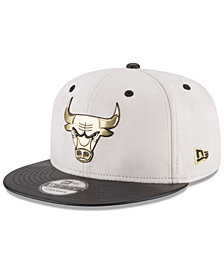 New Era Chicago Bulls Paul George Collection 9FIFTY Strapback Cap