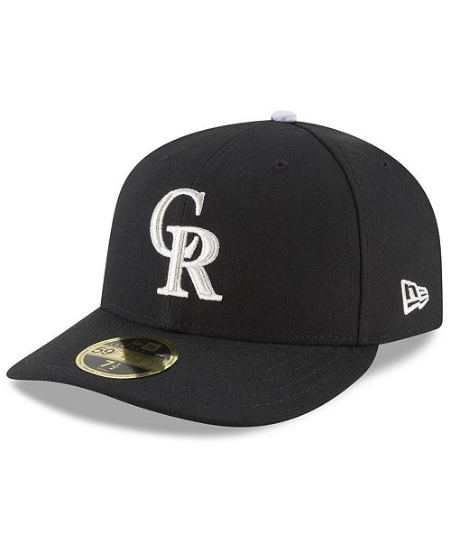 aa4ee671bef ... New Era Colorado Rockies Authentic Collection 25th Anniversary Low  Profile 59FIFTY Cap ...
