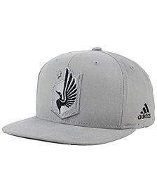 adidas Minnesota United FC Gray Snapback Cap