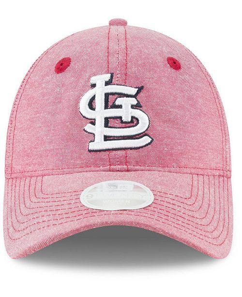 finest selection 9bf84 dcf3b New Era St. Louis Cardinals Team Linen 9TWENTY Strapback Cap - Sports Fan  Shop By Lids - Men - Macy s