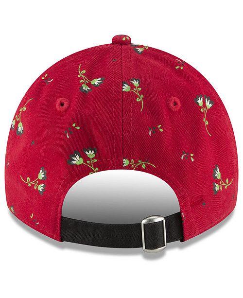 info for 06aa2 28bf7 New Era Cincinnati Reds Blossom 9TWENTY Strapback Cap ...