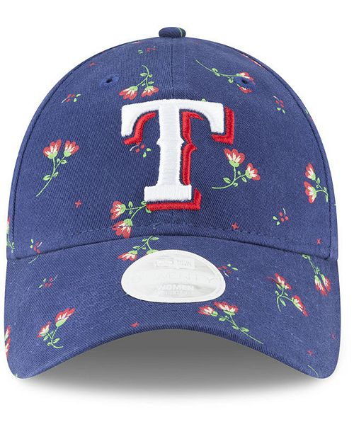 new style 4d813 4bbb0 ... get new era texas rangers blossom 9twenty strapback cap sports fan shop  by lids men macys