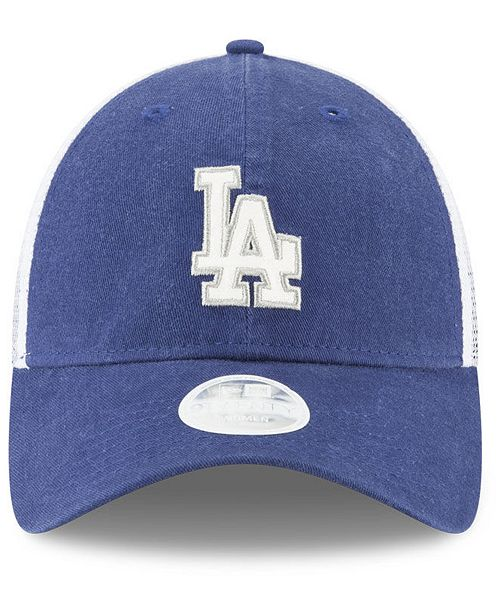 buy online 65738 75e06 ... sale new era los angeles dodgers trucker shine 9twenty cap sports fan  shop by lids men