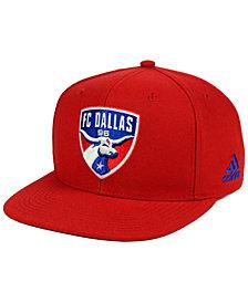 adidas FC Dallas Poly Snapback Cap
