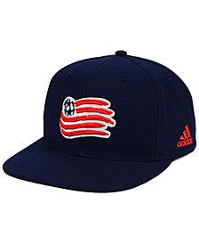 adidas New England Revolution Poly Snapback Cap
