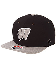 Zephyr Wisconsin Badgers The Boss Snapback Cap