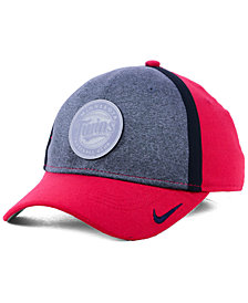 Nike Minnesota Twins Team Color Reflective Swooshflex Cap