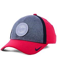 Nike Minnesota Twins Team Color Reflective Swooshflex Cap