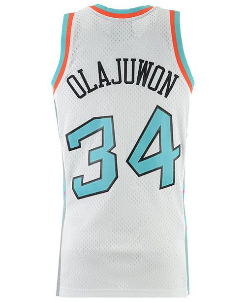 new styles c153e c4c2a Men's Hakeem Olajuwon NBA All Star 1996 Swingman Jersey