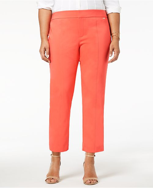 Charter for Ankle Club Plus Rose Size Created Pants Macy's Skinny Porcelain 6Fnw6TxrWq